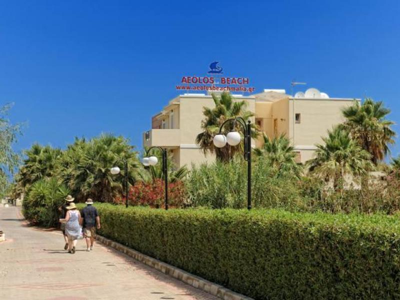 All World Hotel Aeolos Beach Resort Hotel Und Wassersport Malia